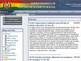 Superintendencia de Telecomunicaciones ::