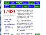 Latin America Data Base :: Servicio de noticias sobre América Latina. Funciona desde 1986 y posee mas de 24 mil articulos