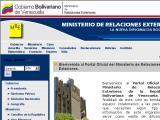 Ministerio de Relaciones Exteriores ::