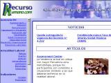 RecursoHumano.com :: Provee informacion y herramientas de actualidad para estar al dia en la informacion acerca de la administracion de los  recursos humanos en Venezuela