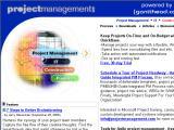 ProjectManagement.com :: El portal para los gerentes de proyecto y usuarios de software para gerencia de proyecto