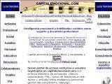 CapitalEmocional.com :: Un espacio de encuentro, un lugar donde intercambiar y compartir experiencias sobre Liderazgo, Comunicación corporativa, etc.