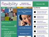 Flexibility :: Informacion y recursos sobre nuevas formas de trabajar: teletrabajo, tiempo compartido, etc.
