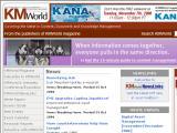 KMWorld.com :: El mundo de la gerencia del conocimiento. Incluye novedades, autores, guia del comprador, enlaces, etc.
