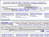 Knowledge Management en Brint :: Portal y comunidad virtual para el nuevo mundo de los negocios
