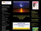World Future Society :: Asociacion cientifica y educativa de personas interesadas en como los desarrollos sociales y tecnologicos le estan dando forma al futuro