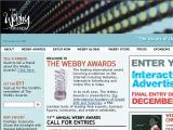 WebbyAwards.com :: Premios a las mejores paginas web