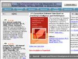 EIconsortium.org :: Consorcio para la investigacion de Inteligencia Emocional en las organizaciones. Incluye reportes, modelos, libros y mas.