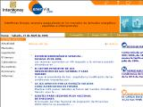 EnerVia.com :: Pagina para ayudar a las empresas consumidoras, generadoras o comercializadoras de energia a desarrollar una vision de los mercados