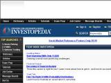 Investopedia.com :: Guia educacional de inversiones y finanzas personales. Incluye diccionario, tutoriales, articulos y mas
