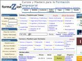 El web de la formación empresarial :: Buscador de cursos, seminarios y conferencias de temática empresarial. Cursos presenciales, a distancia y On line