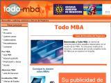 TodoMBA.com :: Web con información de diferentes escuelas de negocio y su oferta de Masters, no solo en Administración de Empresas, tambien en Recursos Humanos, Medio Ambiente, etc...