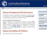 LatinoBarometro.org :: Estudios de opinion publica latinoamericana