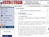 Estr@tegia Magazine :: Revista en linea de la consultora argentina Estrategia, especializada en mercadeo y tecnologia