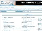 Franquicias-Negocios.com :: Buscador de franquicias y negocios con información sobre 1000 franquicias dónde invertir. Contacta directamente con el responsable de cada franquicia