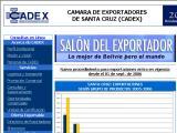 Cámara de Exportadores de Santa Cruz - CADEX :: Agrupa a todas las personas y empresas dedicadas a la actividad exportadora de bienes y/o servicios, establecidas en el departamento de Santa Cruz