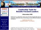 Leadership-tools.com :: Investigan, crean y distribuyen herramientas de calidad en cinco áreas estratégicas: planificación, liderazgo, ventas, atención al cliente y trabajo en equipo