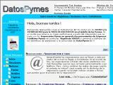 DatosPymes.com.ar :: portal interactivo iniciado con la idea de que alcance su mejor performance a partir del intercambio que logremos quienes lo creamos, con los Empresarios Pymes en general y los provenientes de Empresas Familiares Pymes en particular
