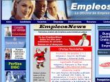 Empleos.net :: La oficina de empleos en Internet. Combina el reclutamiento en linea con la oficina tradicional, en una red que abarca varios paises de centro y sur américa.