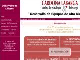 """Cardona Labarga :: Centro de Estrategia y Liderazgo,Asesores de Dirección para el Desarrollo de los Profesionales y las Organizaciones cuya Misión se centra en """"Generar un cambio profundo de Mentalidad y Hábitos en todos los profesionales clave de la e"""