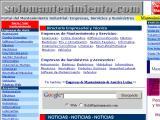 SoloMantenimiento.com :: Portal del Mantenimiento Industrial: Empresas, Servicios y Suministros