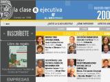 ClaseEjecutiva.cl :: Nuevo modelo de educación para mejorar la gestión de las empresas latinoamericanas. Combina clases publicadas en el peródico, con Internet y clases presenciales.