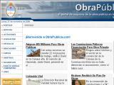 ObraPública.com :: Portal de negocios de la Obra Pública en la República Argentina. Licitaciones y noticias de obras públicas y privadas sin cargo.