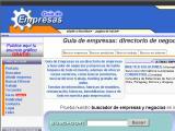 Guia-Empresas.net :: Directorio de empresas y buscador de negocios y empresas de habla hispana de todo el mundo.