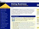 DoingBusiness.org :: Pagina del Banco Mundial, en la cual se rankean los paises del mundo segun lo facil que es hacer negocios alli, basados en criterios como cuantos tramites hacen falta para crear una empresa o cuanto tiempo tarda