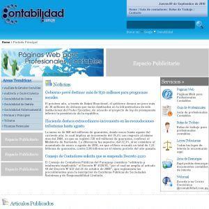 Contabilidad.com.py :: Portal con temas de contabilidad y recursos para profesionales contables