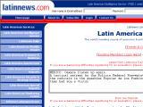 Latin News :: Informacion politica y economica de latinoamerica
