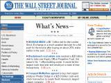 The Wall Street Journal :: Periodico lider en informacion financiaera