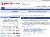 Yahoo! Finance :: Informacion financiera completa
