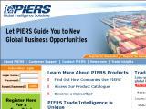 Piers - Port Import Export Report Service :: Estadisticas sobre el transporte maritimo en EEUU y Latinoamerica