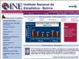 Instituto Nacional de Estadistica (INE) :: Organismo oficial de estadisticas en Bolivia