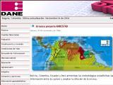 Departamento Administrativo Nacional de Estadistica (DANE) :: Organismo oficial de estadisticas en Colombia