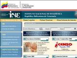 Instituto Nacional de Estadística :: Organismo oficial de estadisticas en Venezuela
